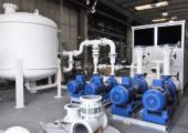 Pumping and filtration connected system