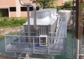Cooling tower with VDI integrated