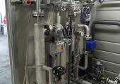 Example of complete SWTF150 skid in petrochemical industry