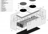 Particulars of a cooling tower